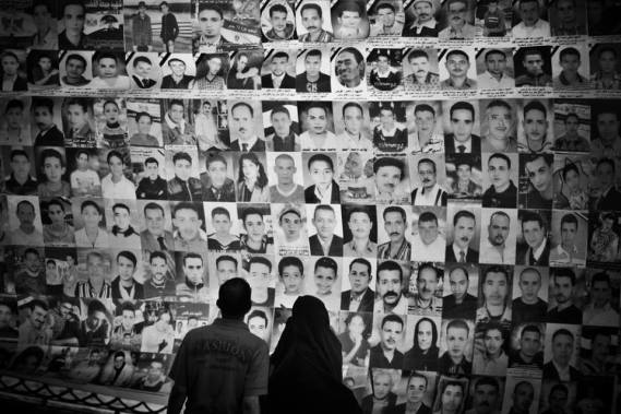 The faces of the martyrs of January/February 2011. Picture by Mos'ab ElShamy.
